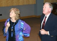 Pete and Pam Wright, Adjunct Professors of Law