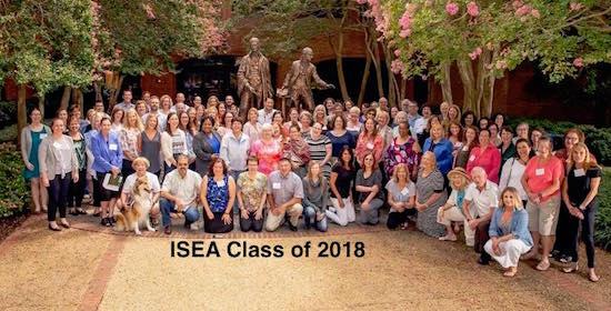 ISEA 2018 Graduates