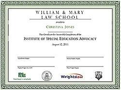 ISEA Certificate