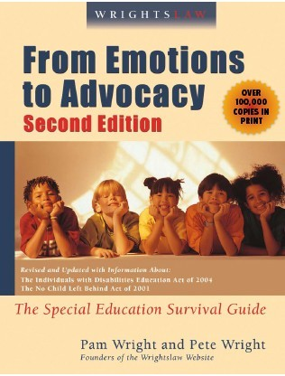 From Emotions to Advocacy by Pam and Pete Wright