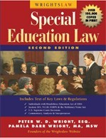 Cover of  Wrightslaw: Special Education Law by Peter Wright and Pamela Wright