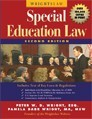 Wrightslaw: Special Education Law, 2nd Edition Book