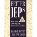 Better IEPs by Barbara Bateman