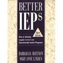 Better IEPs by Barbara Bateman