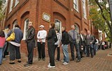 Long line at election in 2008