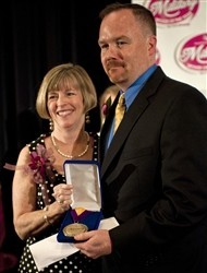 Jeremy Hilton, Military Spouse of the Year 2012