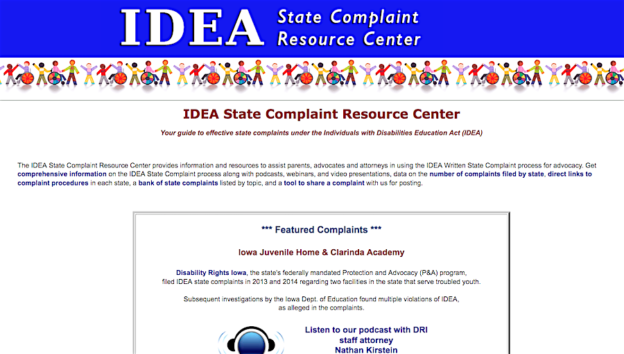 10 Key Procedural Safeguards In Idea >> The Idea State Complaint Resource Center Your Guide To Effective