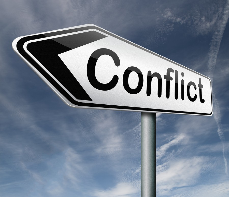 conflict sign