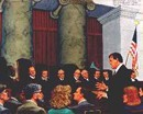 Pete Wright during oral argument at US Supreme Court Carter case