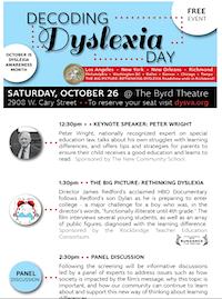 Decoding Dyslexia Day, Richmond, VA