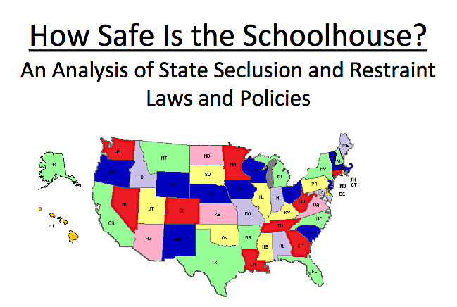 New Report On State Laws On Seclusion >> Can The Use Of Restraint Deny Section 504 Fape Wrightslaw