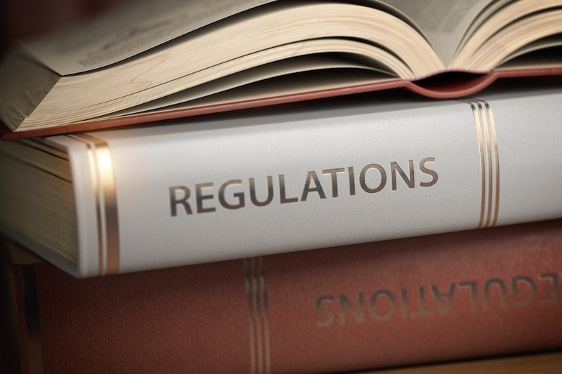 image of rules and regulations books