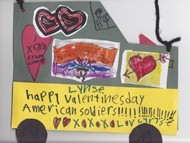 Happy Valentines to an American Soldier art
