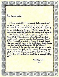 Letter to an American Soldier