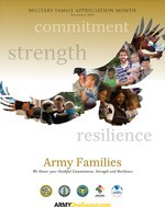 Army Families - Military Family Appreciation Month