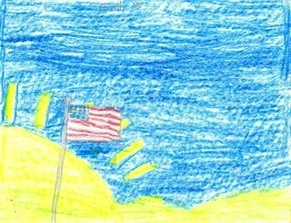 Thank you to American Soldiers art