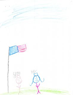 Thank you to American Soldiers art from Lyon Elementary School Republic MO