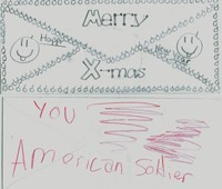 Merry Christmas to an American Soldier