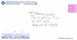 New Hope-Solebury Middle School letters