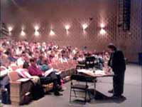 Pete speaks at conference