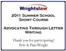 Summer School Short Course 2011 Certificate
