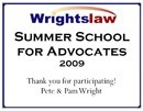 Summer School for Advocates Certificate