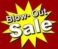 Weekend Blowout Sale