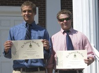 Alex and Blake inducted into National Beta Club