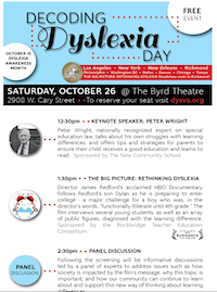 Decoding Dyslexia Day, Richmond, VA
