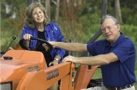 Pam, Pete and Kubota