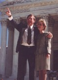Pete and Shannon after Oral Argument before the Supreme Court