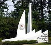 Entrance to Anne Arundel Community College
