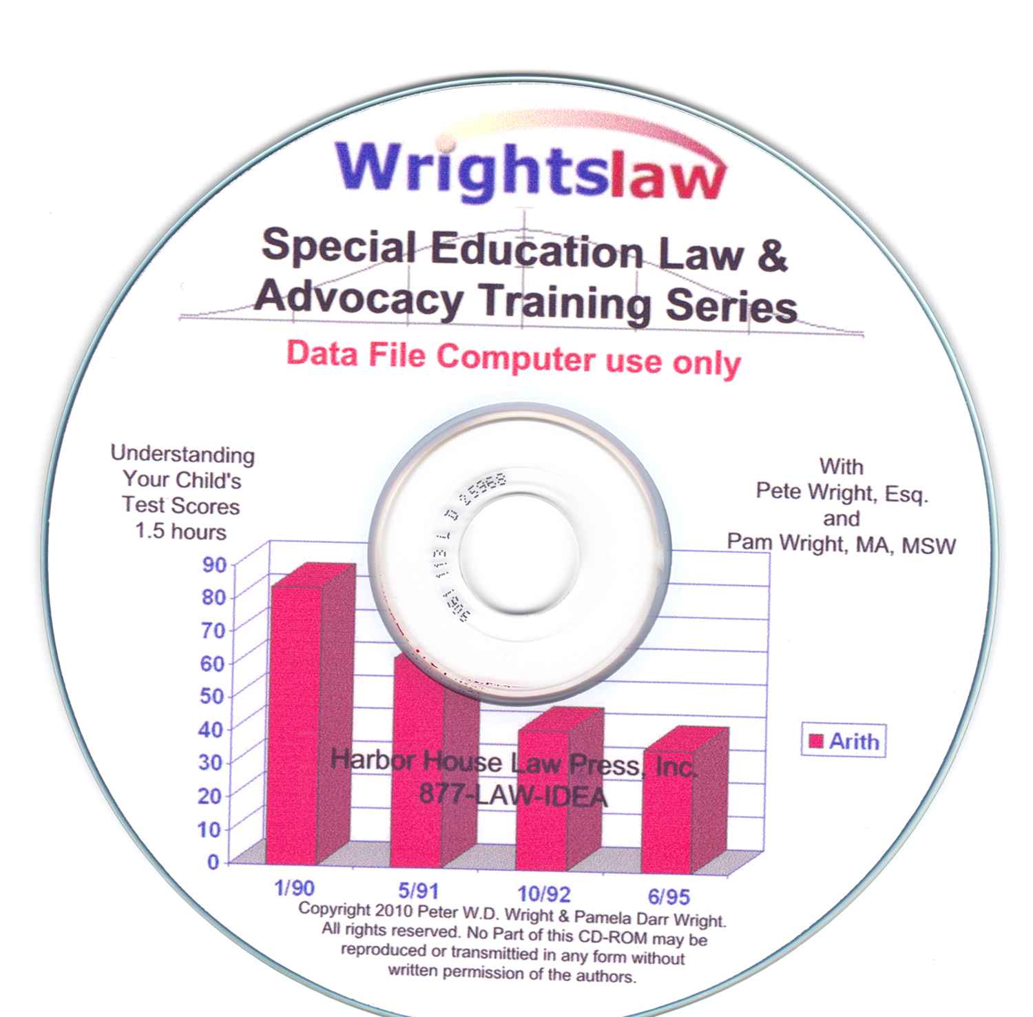 Understanding Your Child's Test Scores, Wrightslaw Multimedia Training on CD Rom