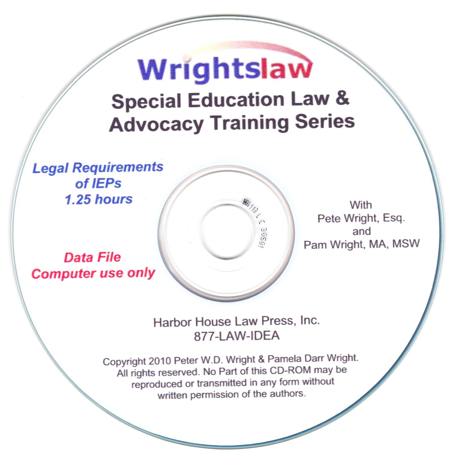 Legal Requirements of IEPs by Peter W.D. Wright, Esq.