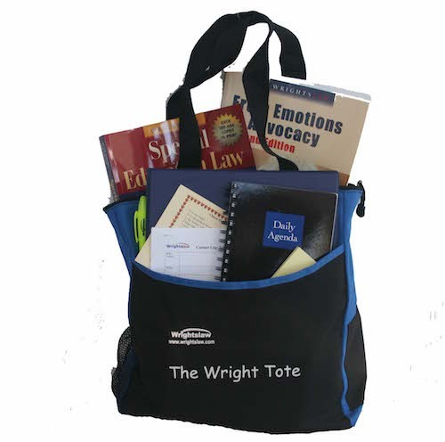 image of Wrightsaw IEP Tote Kit with Books