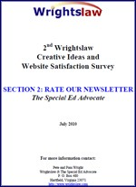 Wrightslaw Website Satisfaction Survey