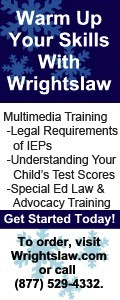 special eduation law and advocacy webex training ad